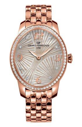 Женские часы majestic rose gold GIRARD-PERREGAUX перламутрового цвета, арт. 80493D52A763-52A | Фото 1