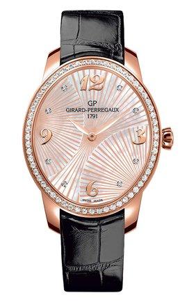 Женские часы majestic rose gold GIRARD-PERREGAUX перламутрового цвета, арт. 80493D52A763-CK6A   Фото 1