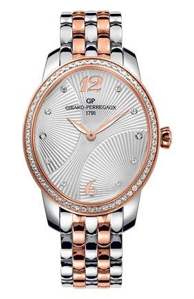 Женские часы majestic steel and rose gold GIRARD-PERREGAUX бесцветного цвета, арт. 80493D56A162-56A | Фото 1