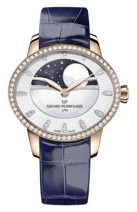 Женские часы celestial GIRARD-PERREGAUX перламутрового цвета, арт. 80496D52A751-CK4A | Фото 1