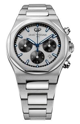 Мужские часы laureato chronograph GIRARD-PERREGAUX серебряного цвета, арт. 81020-11-131-11A | Фото 1
