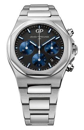 Мужские часы laureato chronograph GIRARD-PERREGAUX черного цвета, арт. 81020-11-631-11A | Фото 1