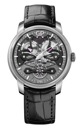 Мужские часы neo bridges GIRARD-PERREGAUX серого цвета, арт. 84000-21-001-BB6A | Фото 1