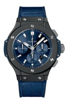 Мужские часы big bang ceramic blue HUBLOT синего цвета, арт. 301.CI.7170.LR | Фото 1