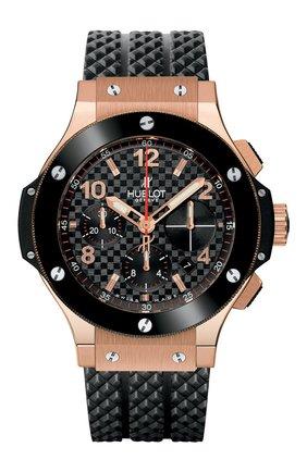 Мужские часы big bang gold ceramic HUBLOT черного цвета, арт. 341.PB.131.RX   Фото 1