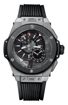 Мужские часы big bang alarm repeater titanium ceramic HUBLOT черного цвета, арт. 403.NM.0123.RX | Фото 1
