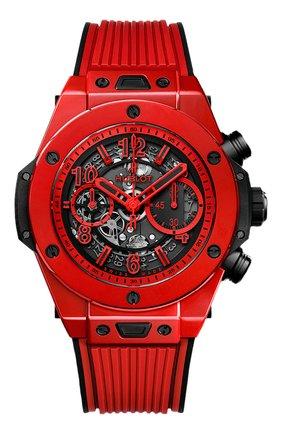Мужские часы big bang unico red magic HUBLOT серого цвета, арт. 411.CF.8513.RX | Фото 1