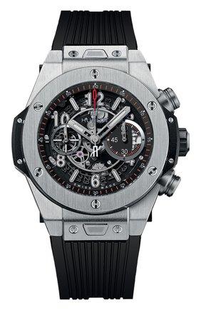 Мужские часы big bang unico titanium HUBLOT серого цвета, арт. 411.NX.1170.RX | Фото 1