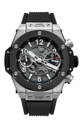 Мужские часы big bang unico titanium ceramic HUBLOT серебряного цвета, арт. 441.NM.1170.RX | Фото 1