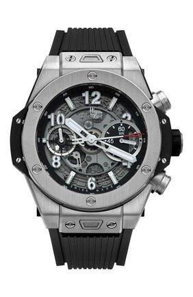 Мужские часы big bang unico titanium HUBLOT серебряного цвета, арт. 441.NX.1170.RX | Фото 1