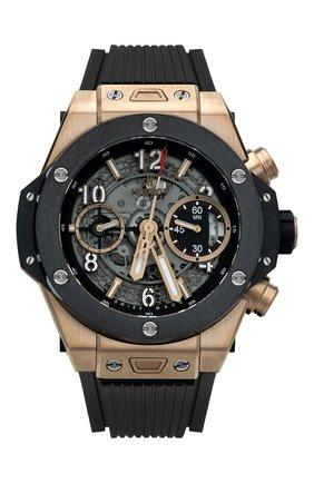 Мужские часы big bang unico king gold ceramic HUBLOT серебряного цвета, арт. 441.OM.1180.RX | Фото 1