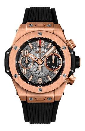 Мужские часы big bang unico king gold HUBLOT серого цвета, арт. 441.OX.1180.RX | Фото 1