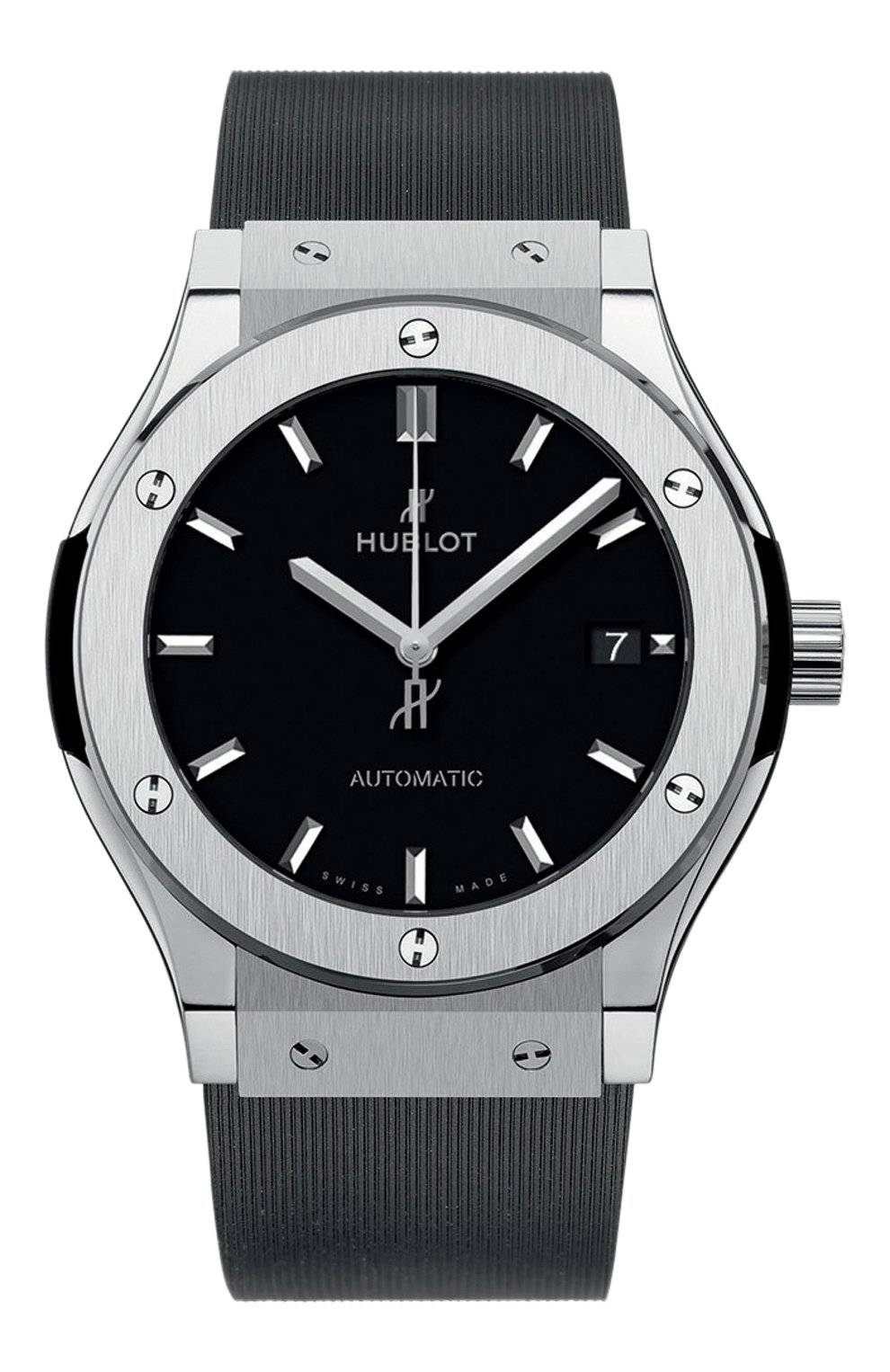 Мужские часы classic fusion titanium HUBLOT черного цвета, арт. 511.NX.1171.RX   Фото 1