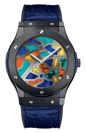 Мужские часы classic fusion black magic HUBLOT разноцветного цвета, арт. 512.CL.0001.LR | Фото 1
