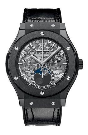 Мужские часы classic fusion aerofusion moonphase ceramic HUBLOT серебряного цвета, арт. 517.CX.0170.LR | Фото 1