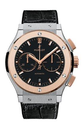 Мужские часы classic fusion titanium king gold HUBLOT черного цвета, арт. 521.NO.1181.LR | Фото 1