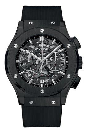 Мужские часы classic fusion aerofusion black magic HUBLOT черного цвета, арт. 525.CM.0170.RX | Фото 1