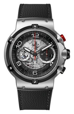 Мужские часы classic fusion ferrari gt titanium HUBLOT серебряного цвета, арт. 526.NX.0124.VR | Фото 1