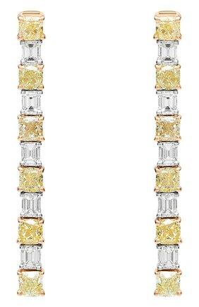 Женские серьги MERCURY  цвета, арт. ME24108/WYG/CUBD | Фото 1