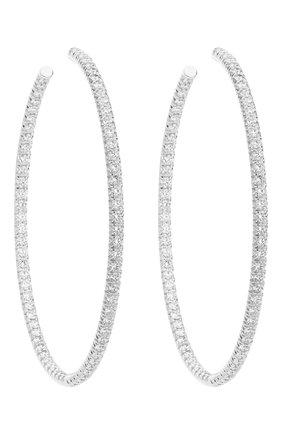 Женские серьги MERCURY белого золота цвета, арт. ME25446/WG/HP2.45 | Фото 1