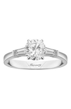 Женские кольцо MERCURY белого золота цвета, арт. MR150WRDB | Фото 2