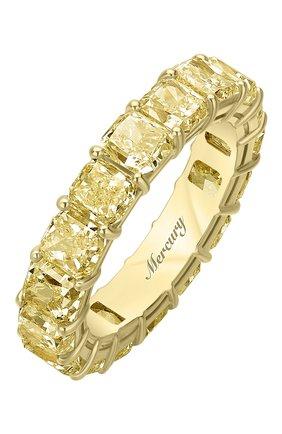 Женские кольцо MERCURY желтого золота цвета, арт. MR23511/YG/1YD0.20 | Фото 1