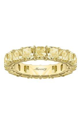 Женские кольцо MERCURY желтого золота цвета, арт. MR23511/YG/1YD0.20 | Фото 2