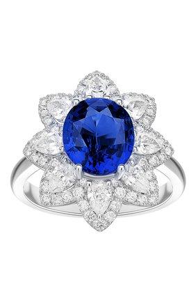 Женские кольцо MERCURY бесцветного цвета, арт. MR24365WS | Фото 2
