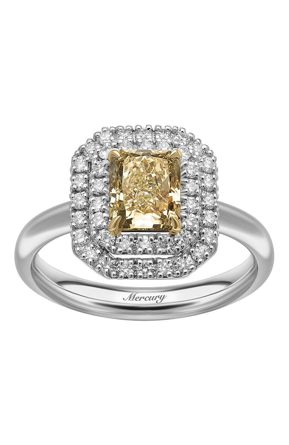 Женские кольцо MERCURY бесцветного цвета, арт. MR24569WYD   Фото 2