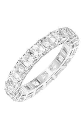 Женские кольцо MERCURY бесцветного цвета, арт. MR24974/WG/1ASSD0.30 | Фото 1 (Материал сплава: Белое золото; Драгоценные камни: Бриллианты)