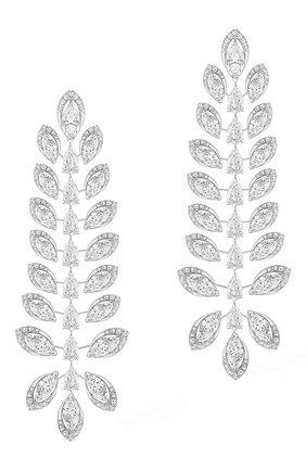 Женские серьги MESSIKA бесцветного цвета, арт. 07369-WG | Фото 1