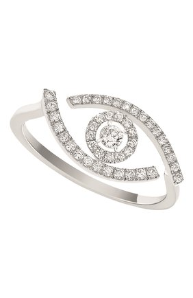 Женские кольцо MESSIKA белого золота цвета, арт. 10037-WG | Фото 1