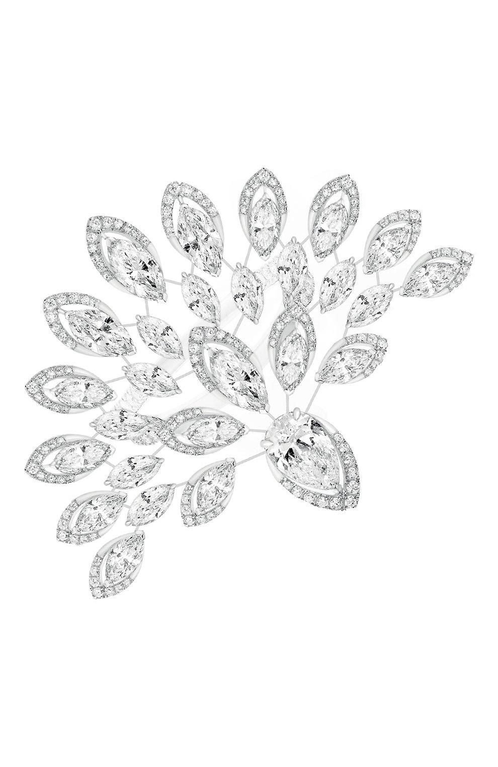 Женские кольцо MESSIKA бесцветного цвета, арт. 10146-WG   Фото 1