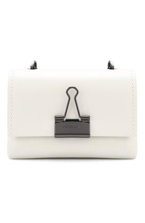 Женская сумка soft small OFF-WHITE белого цвета, арт. 0WNA121T20LEA0010100 | Фото 1