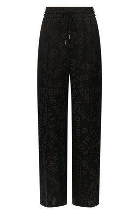 Женские брюки OFF-WHITE черного цвета, арт. 0WCH005T20FAB0011008   Фото 1