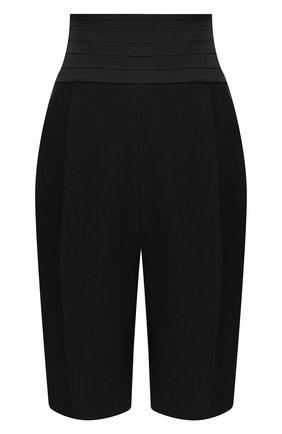 Женские шорты из вискозы KHAITE черного цвета, арт. 3053400/BIRDIE | Фото 1