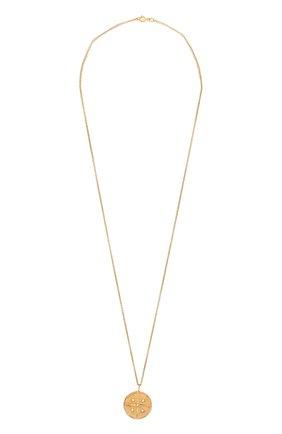 Женская кулон на цепочке leo COPINE JEWELRY золотого цвета, арт. LEOGLD | Фото 1