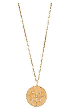 Женская кулон на цепочке leo COPINE JEWELRY золотого цвета, арт. LEOGLD | Фото 2