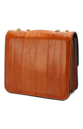 Женская сумка kalligraphy FENDI оранжевого цвета, арт. 8BT317 A9P1 | Фото 3