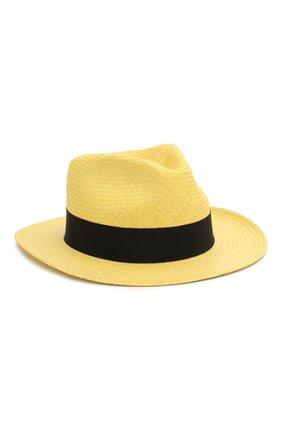 Женская шляпа-федора DOLCE & GABBANA бежевого цвета, арт. FH507A/GDV50   Фото 1