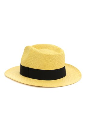 Женская шляпа-федора DOLCE & GABBANA бежевого цвета, арт. FH507A/GDV50   Фото 2