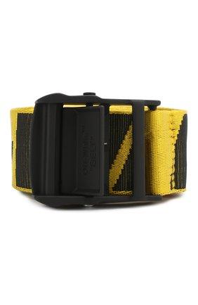 Женский ремень industrial OFF-WHITE желтого цвета, арт. 0WRB027R202230766010 | Фото 1