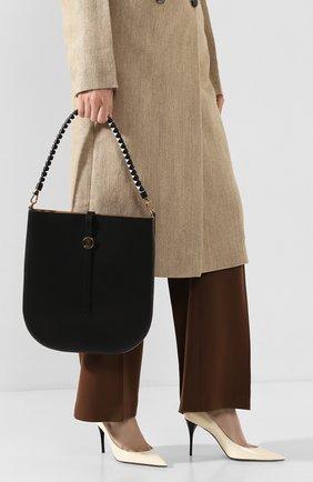 Женская сумка anne BURBERRY черного цвета, арт. 8028007 | Фото 2
