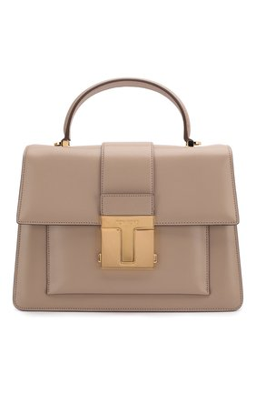 Женская сумка 001 medium TOM FORD бежевого цвета, арт. L1289T-LG0009   Фото 1