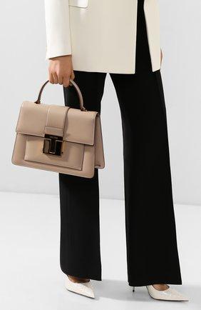 Женская сумка 001 medium TOM FORD бежевого цвета, арт. L1289T-LG0009   Фото 2