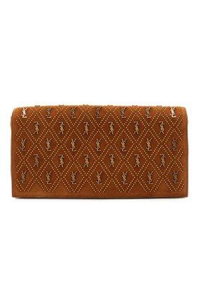 Женская сумка supple kate 99 SAINT LAURENT коричневого цвета, арт. 609809/1S7AW   Фото 1
