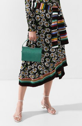 Женская сумка milky GU_DE зеленого цвета, арт. G020SMCL001 | Фото 2