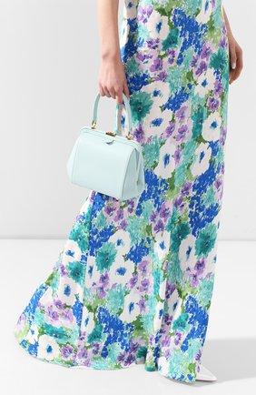 Женская сумка ULYANA SERGEENKO бирюзового цвета, арт. BRS030CLASSX (0313с) | Фото 2
