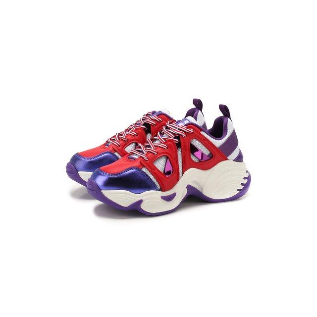Комбинированные кроссовки Emporio Armani — Комбинированные кроссовки