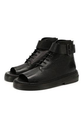 Женские кожаные ботинки MARSELL черного цвета, арт. MW5836/PELLE CANGUR0 | Фото 1